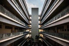 Arquitectura en la universidad de Shenzhen, China Imagen de archivo libre de regalías