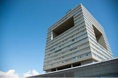 Arquitectura en la universidad de Shenzhen, China Imágenes de archivo libres de regalías