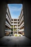 Arquitectura en la universidad de Shenzhen, China Fotos de archivo libres de regalías