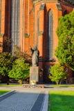 Arquitectura en Legnica polonia Imagenes de archivo