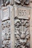 Arquitectura en los edificios de la URSS Foto de archivo