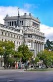Arquitectura en Madrid, España Foto de archivo libre de regalías
