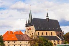 Arquitectura en Slany - República Checa Foto de archivo