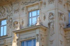Arquitectura en Zagreb imagen de archivo