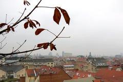 Arquitectura en Zagreb, Croacia foto de archivo libre de regalías