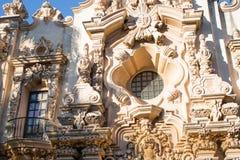 Arquitectura española imágenes de archivo libres de regalías