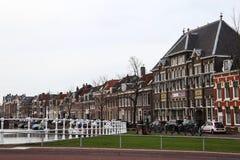 Arquitectura espectacular de Haarlem fotos de archivo