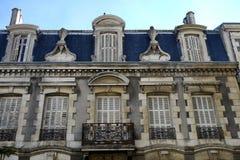 Arquitectura francesa imagen de archivo libre de regalías