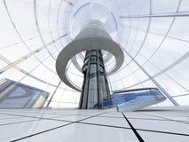 Arquitectura futurista Fotos de archivo