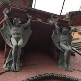 Arquitectura gótica Fotografía de archivo libre de regalías