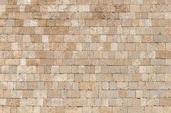 Arquitectura grande de la pared del castillo del cemento del bloque del cubo de la roca del papel pintado Foto de archivo libre de regalías