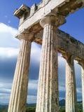 Arquitectura griega Foto de archivo