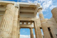 Arquitectura griega Foto de archivo libre de regalías