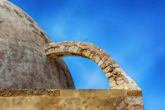 Arquitectura griega en la ciudad vieja de Chania Fotos de archivo
