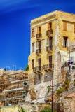 Arquitectura griega en la ciudad vieja de Chania Fotografía de archivo libre de regalías