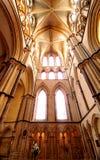Arquitectura gótica Foto de archivo libre de regalías
