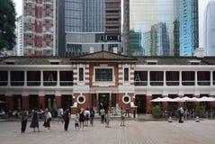 Arquitectura hermosa del St central anterior renovado de la policía fotos de archivo