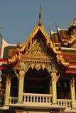 Arquitectura hermosa en nonthaburi buakwan del wat del templo imágenes de archivo libres de regalías