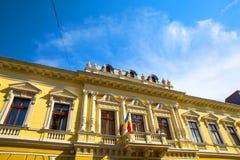 Arquitectura histórica en Oradea Foto de archivo libre de regalías