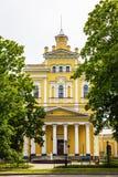 Arquitectura histórica y Art Museum de Kronstadt, Rusia Fotografía de archivo