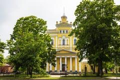 Arquitectura histórica y Art Museum de Kronstadt Rusia Fotografía de archivo libre de regalías