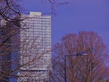 Arquitectura/horizonte de Rotterdam Kop van Zuid Fotografía de archivo
