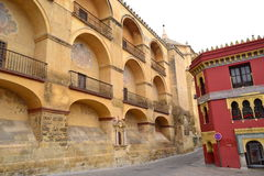 Arquitectura islamica. Surroundings of the city of Córdoba, Spain, where Muslim culture left a deep and lu invaluable historical legacy footprint Stock Photography