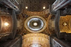 Arquitectura italiana de la iglesia fotografía de archivo libre de regalías