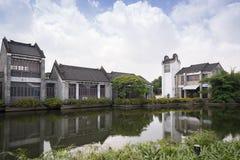 Arquitectura lingnan tradicional china Foto de archivo libre de regalías