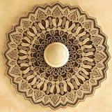 Arquitectura marroquí hermosa como fondo Foto de archivo