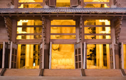 Arquitectura miniatura del templo de Todai-ji foto de archivo libre de regalías