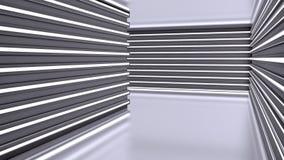Arquitectura moderna abstracta, interior futurista Foto de archivo