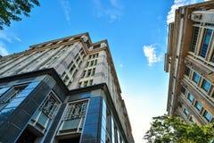 Arquitectura moderna del edificio de oficinas en Putrajaya, Malasia la foto fue tomada 15/05/2017 Imagenes de archivo