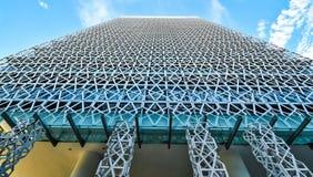 Arquitectura moderna del edificio de oficinas en Putrajaya, Malasia la foto fue tomada 15/05/2017 Imágenes de archivo libres de regalías