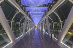 Arquitectura moderna del puente Imagen de archivo