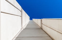 Arquitectura moderna, diseño mínimo y arte fotos de archivo