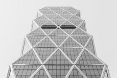 Arquitectura moderna, diseño mínimo y arte imagen de archivo