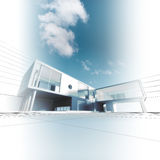 Arquitectura moderna libre illustration