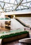Arquitectura moderna en el edificio del este del National Gallery Imagenes de archivo