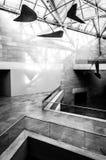 Arquitectura moderna en el edificio del este del National Gallery Fotos de archivo libres de regalías