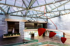 Arquitectura moderna en el edificio del este del National Gallery Fotografía de archivo