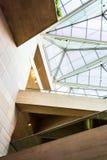 Arquitectura moderna en el edificio del este del National Gallery Fotografía de archivo libre de regalías