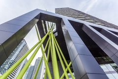 Arquitectura moderna en Toronto, Canadá Foto de archivo