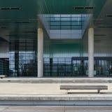 Arquitectura moderna en Zagreb imagenes de archivo
