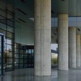 Arquitectura moderna en Zagreb fotografía de archivo libre de regalías