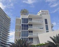 Arquitectura moderna moderna de Miami Beach ArchitectureUltra Fotografía de archivo libre de regalías