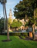 Arquitectura mora de la universidad de Tampa Imagen de archivo libre de regalías