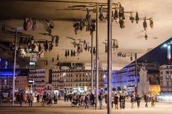 Arquitectura Norman Foster de Marsella Fotos de archivo libres de regalías