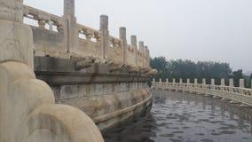 Arquitectura pacífica en Pekín, China foto de archivo libre de regalías