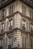 Arquitectura parisiense Imágenes de archivo libres de regalías